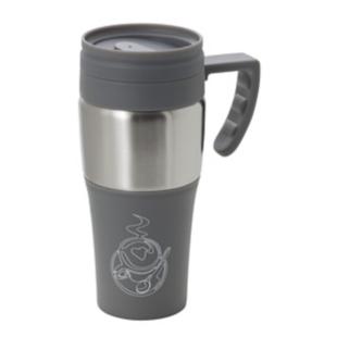 FLY-mug transportable gris 400ml