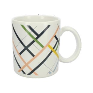 FLY-mug 33cl faience raye