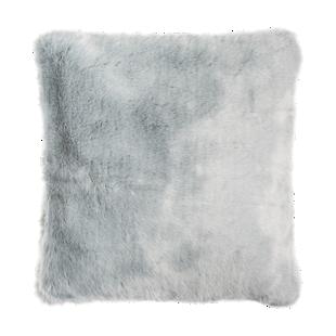 FLY-coussin fourrure 45x45 gris