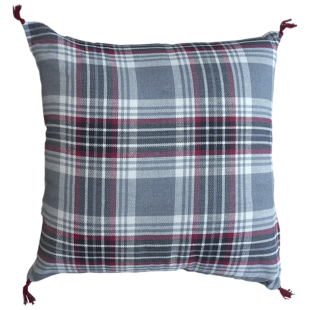 FLY-coussin coton 40x40 gris