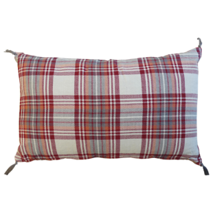 FLY-coussin coton 30x50 rouge