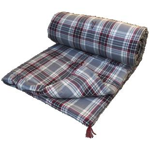 FLY-duvet plat coton 100x180 pique gris