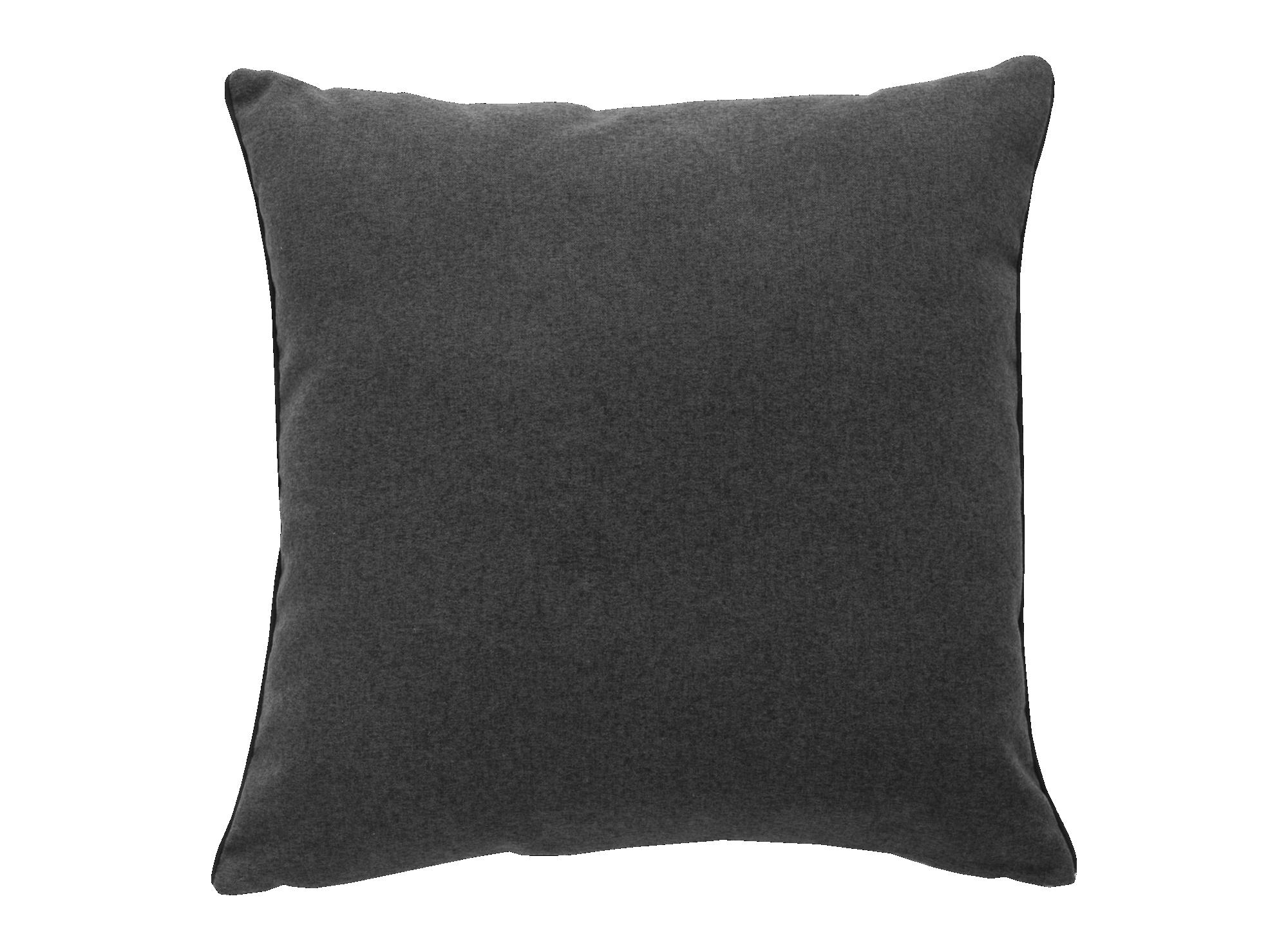 Coussin 45x45 revetu 100% polyester densite 280gr/m. coloris gris/ant ...
