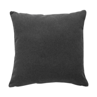 FLY-coussin 45x45 flanelle gris/anthracite