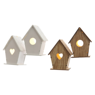 FLY-guirlande led maisons 2 modeles au choix