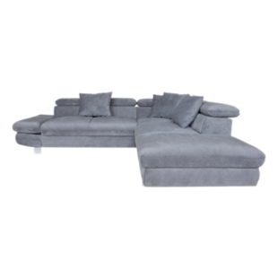 FLY-angle droit convertible tissu anthracite