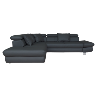 FLY-angle gauche convertible pu noir