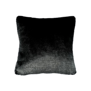 FLY-coussin  40x40 fourrure anthracite