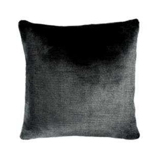FLY-coussin 60x60 fourrure anthracite