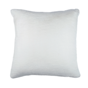 FLY-coussin 60x60 fourrure blanc