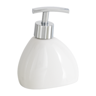 FLY-distributeur de savon h15cm blanc