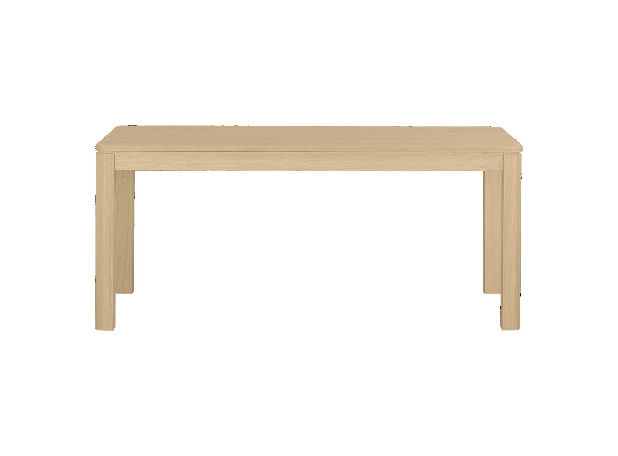Table rectangulaire 2 allonges incluses. plateau, pieds et 2 allonges ...