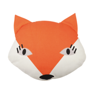 FLY-coussin coton 30x40 fox orange
