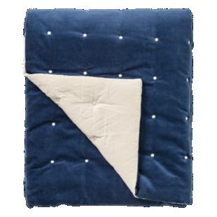 FLY-boutis velours 130x160 bleu nuit