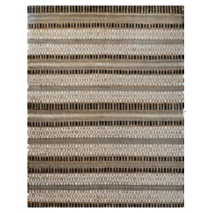 FLY-tapis jute/coton 160x230 gris
