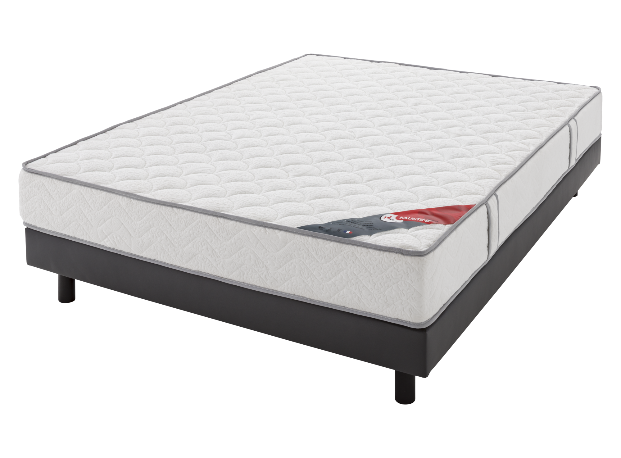 Matelas faustine / flybed confort ferme ame: 540 ressorts ensaches (e ...
