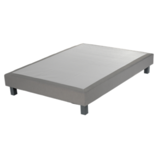 FLY-sommier deco tapissier lattes 140x190cm silex