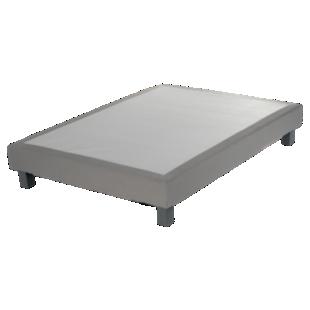 FLY-sommier deco tapissier lattes 140x200cm silex