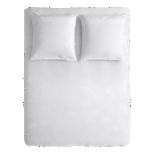 FLY-housse de couette coton 220x240+2 taies blanc