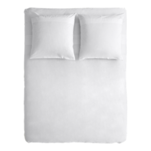 FLY-housse de couette 240x260+2 taies blanc