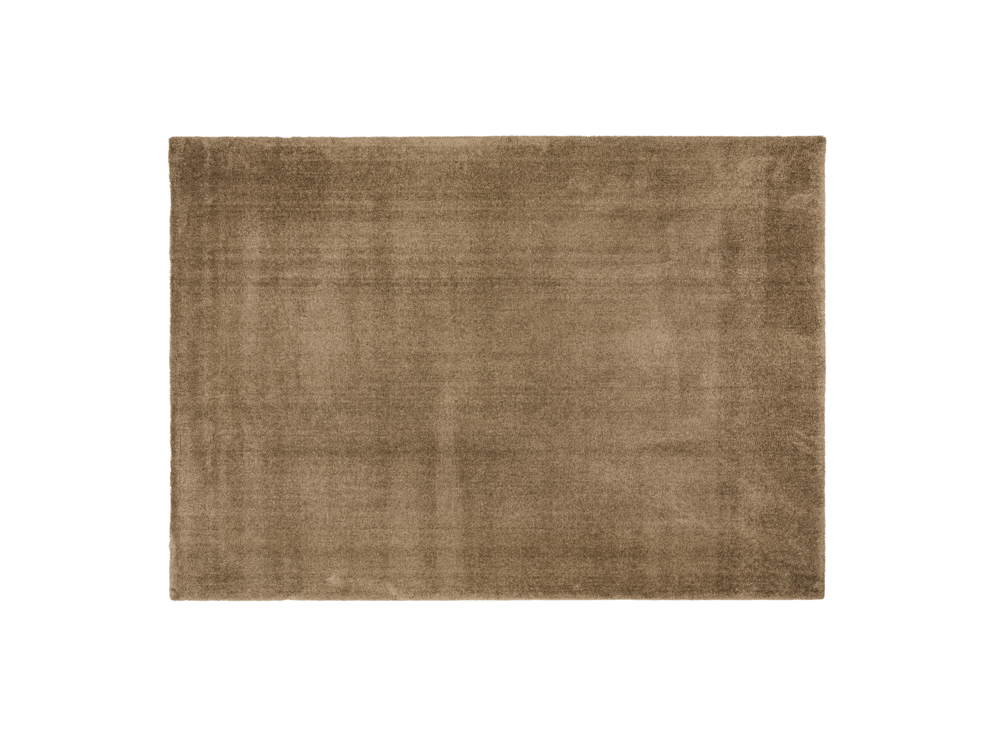 Tapis 200x290 100% polyester coloris taupe densite 2300g/m. lavable ...
