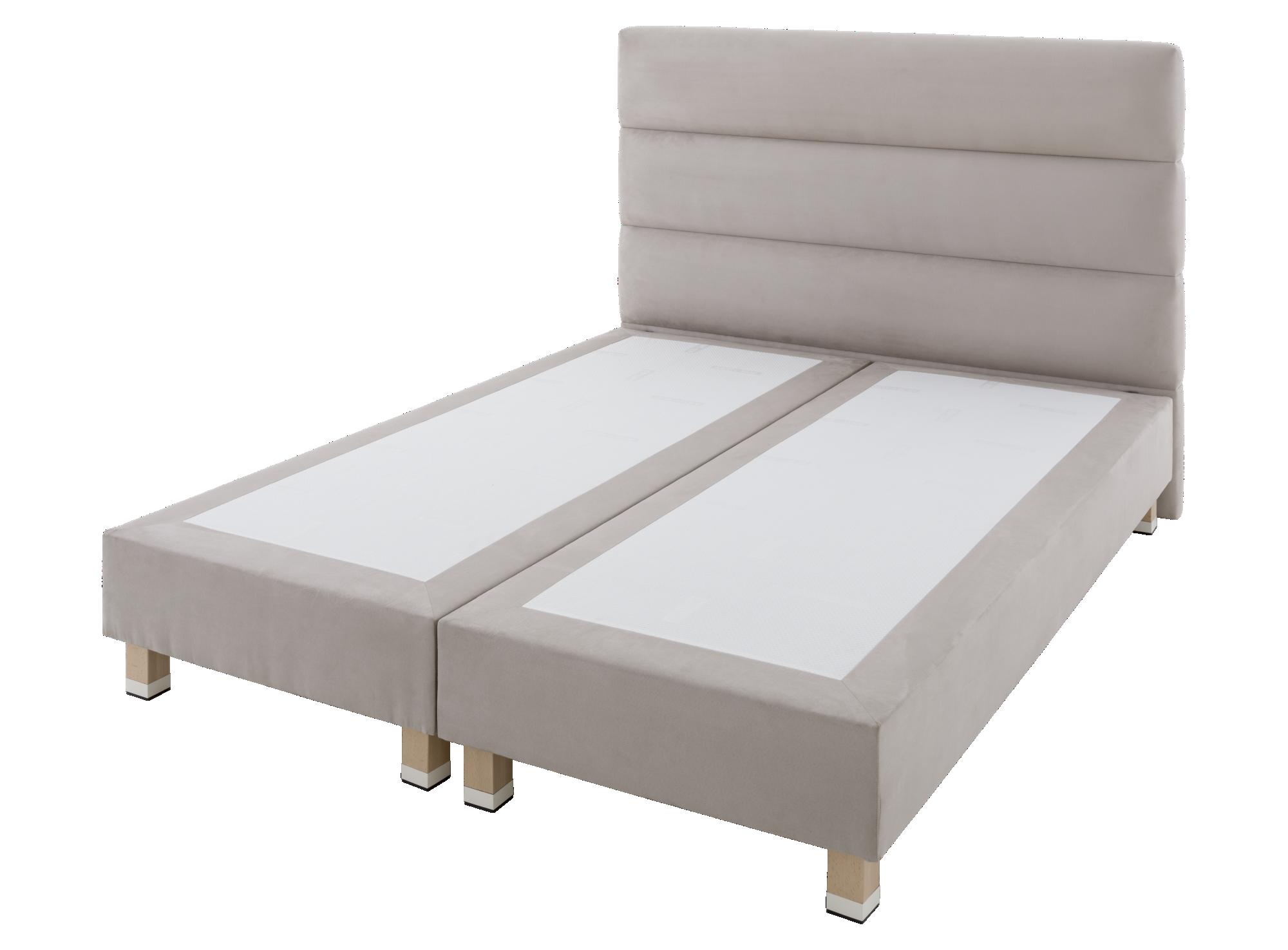 Tete de lit : structure en panneau de particules garnie de mousse pol ...