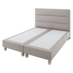 FLY-tete de lit l140 gris clair