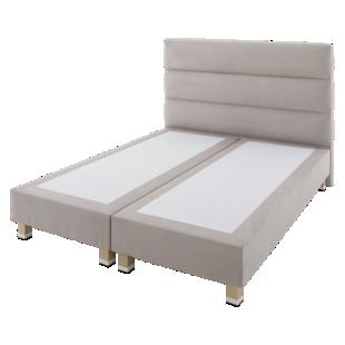 FLY-tete de lit l160 gris clair