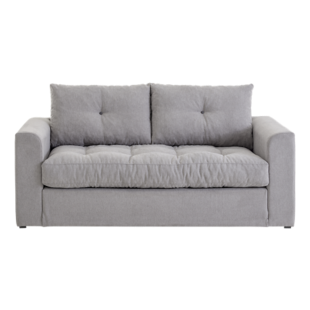 FLY-canape convertible 3 places gris clair