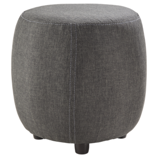 FLY-pouf gris anthracite