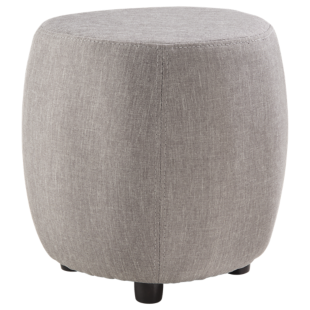 FLY-pouf gris clair