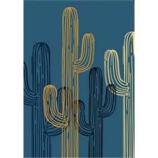 FLY-image laminee 65x92,5cm cactus