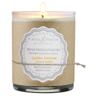 FLY-bougie ambre intense