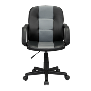 FLY-fauteuil de bureau  noir/gris