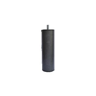 FLY-jeu de 4 pieds cylindre d60 h20cm graphite