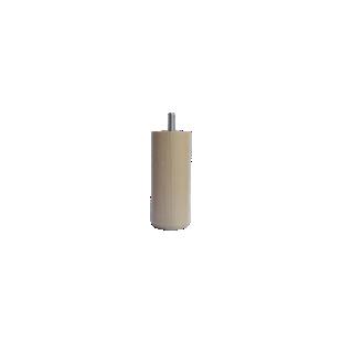 FLY-jeu de 4 pieds cylindre d50 h12cm incolore