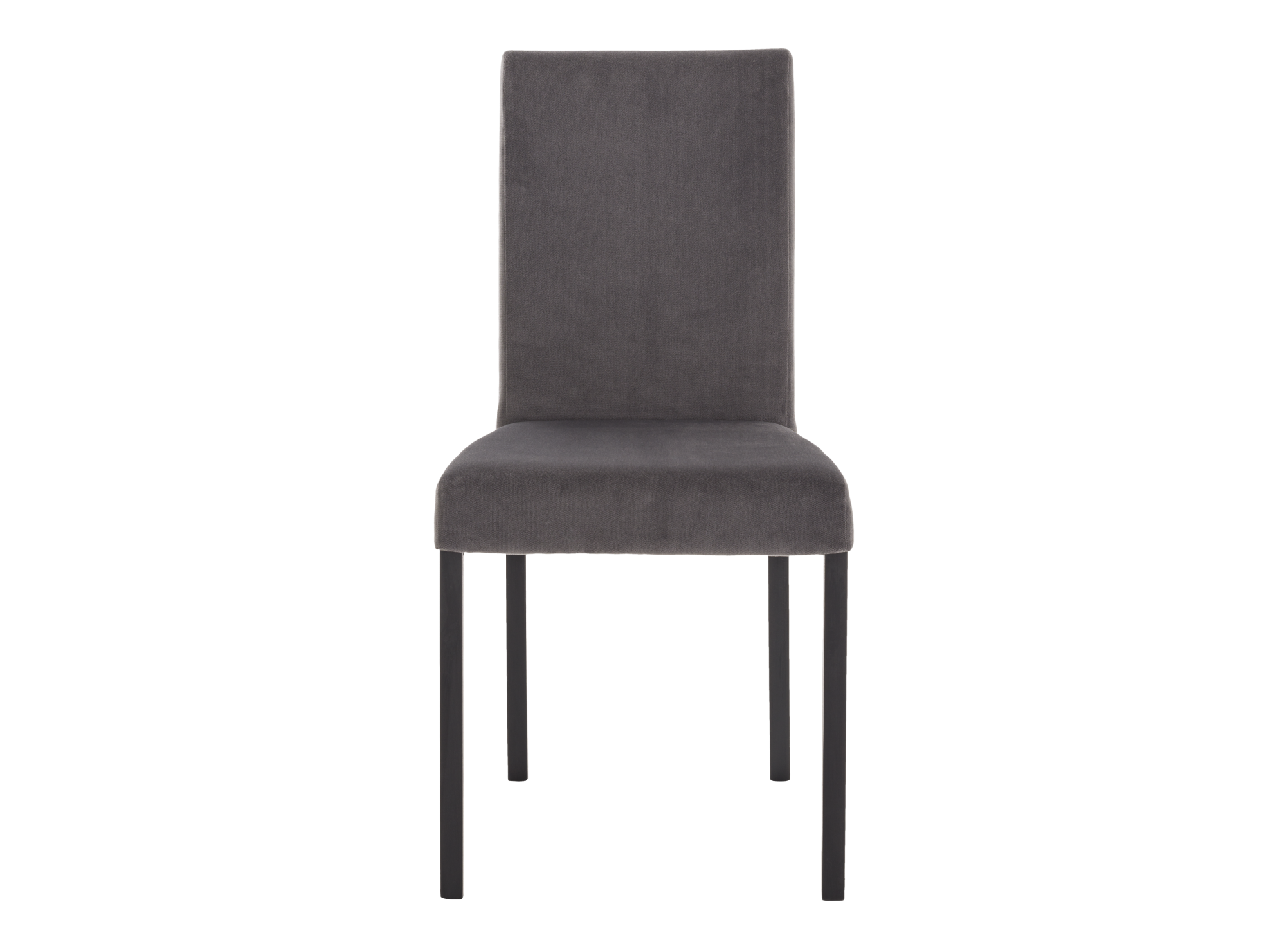 Structure de l'assise et pietement en hetre laque coloris noir. garni ...