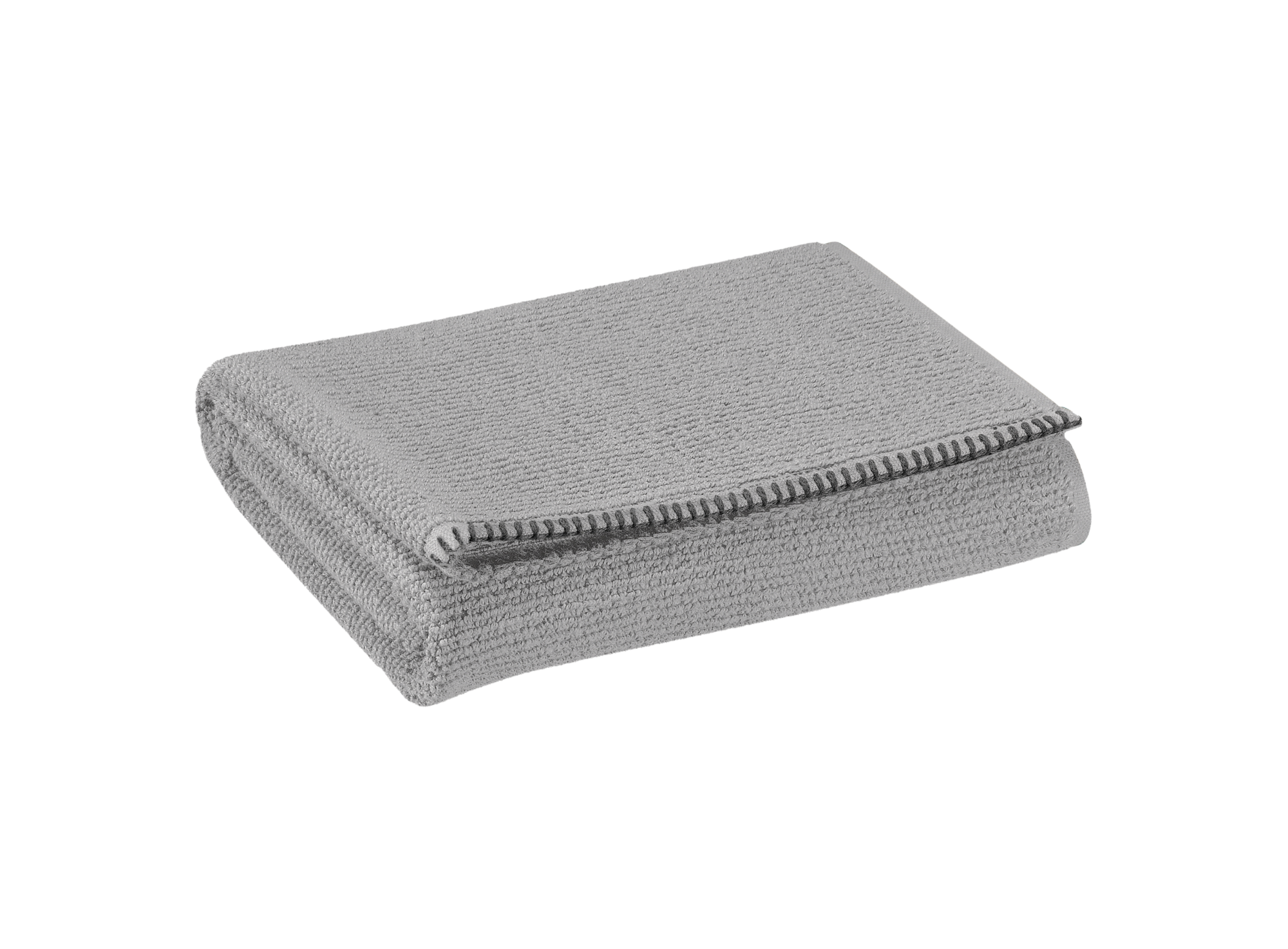 Serviette 90x150 100% coton coloris gris densite 500gr/m2  lavable en ...