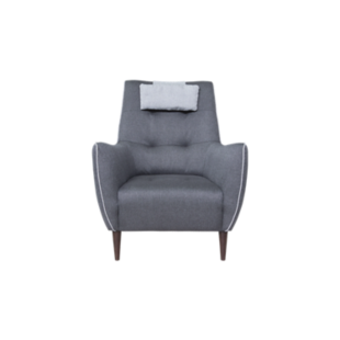 FLY-fauteuil anthracite/gris
