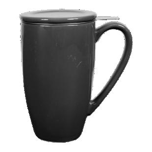 FLY-tisaniere 33cl ceramique gris