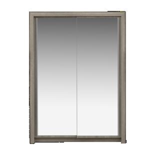 FLY-armoire l154cm 2 portes chene gris