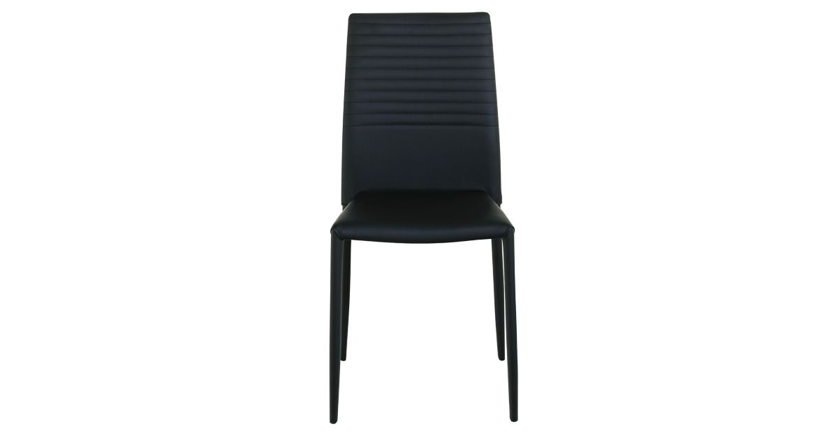 Chaise noir fly for Chaise noir fly