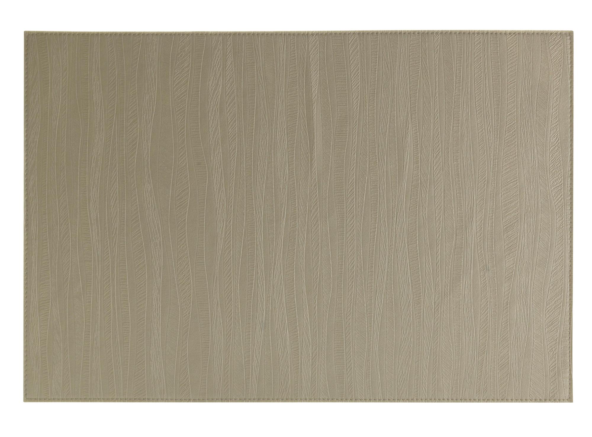 Set de table 90 % pvc, 10% polyester coloris lin nettoyer avec un chi ...