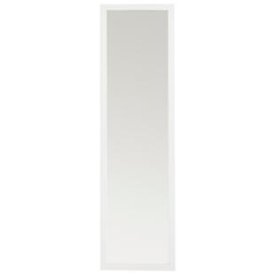 FLY-miroir 30x120cm cadre resine blanc