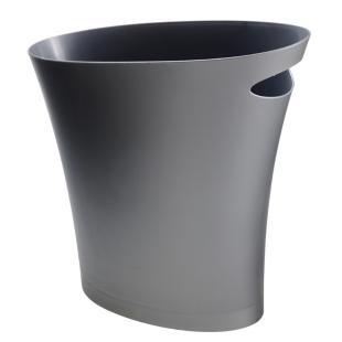 FLY-corbeille en polypropylene h. 33 cm argent