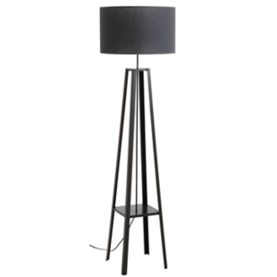FLY-lampadaire h171 anthracite et gris