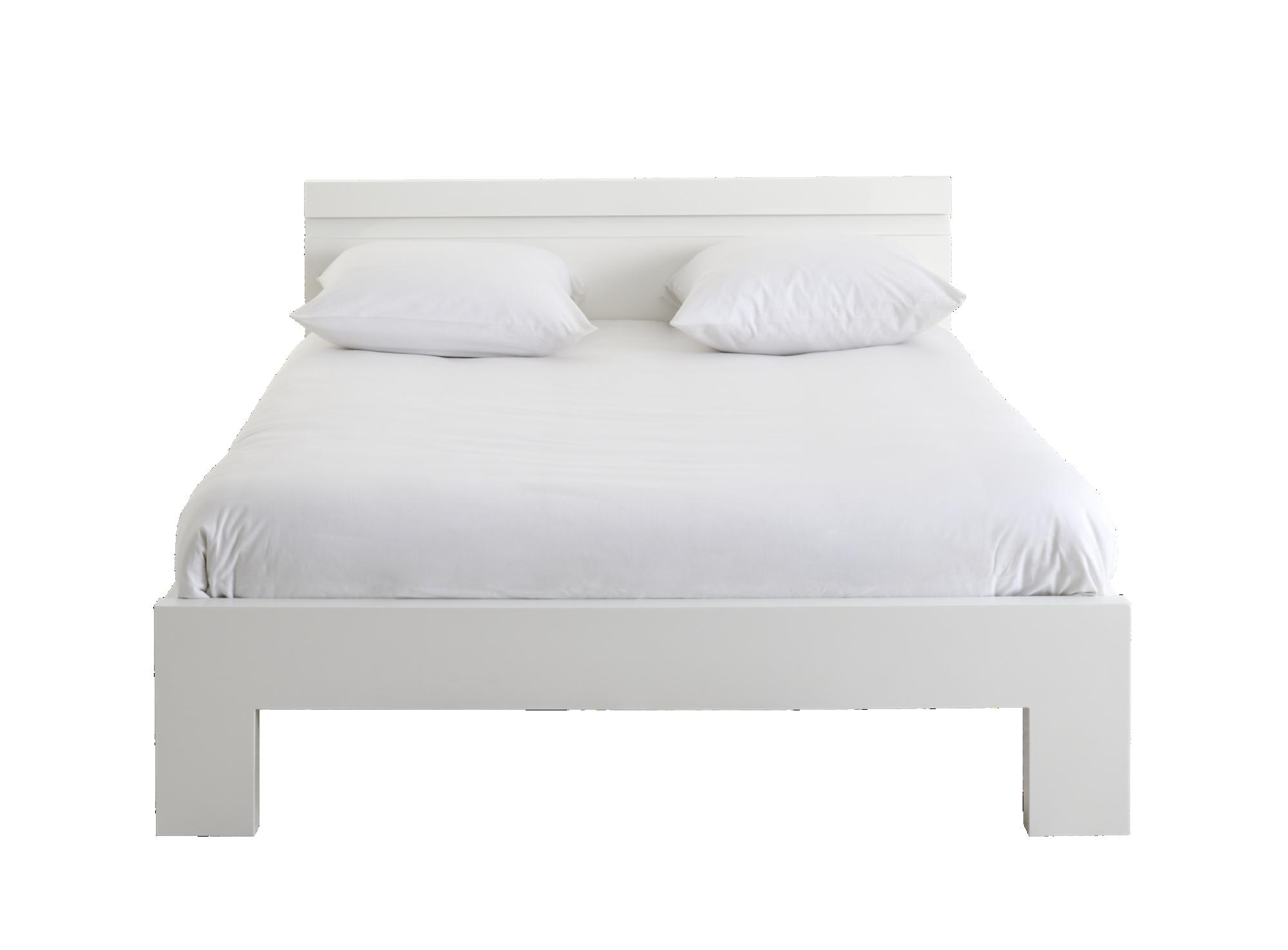 lit 140x190 cm avec leds blanc brillant lit adulte lit literie fly. Black Bedroom Furniture Sets. Home Design Ideas