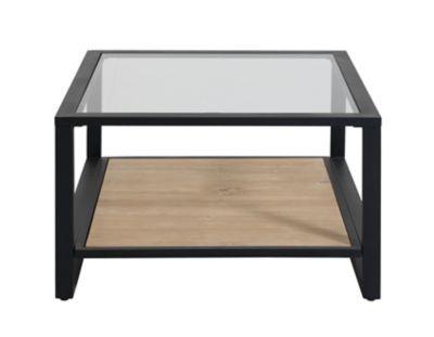 Table Basse Verre Trempe Noir