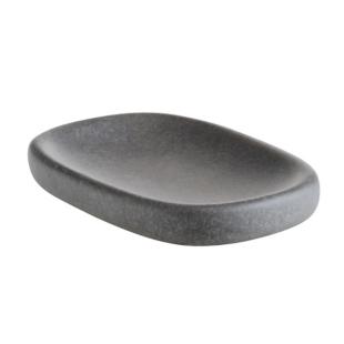 FLY-porte savon 14x9 cm gris