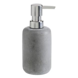 FLY-distributeur a savon h. 16 cm gris/argent